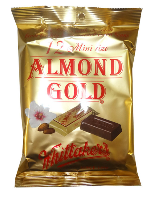 Whittakers Mini Almond Slabs, by Whittakers,  and more Confectionery at The Professors Online Lolly Shop. (Image Number :8588)