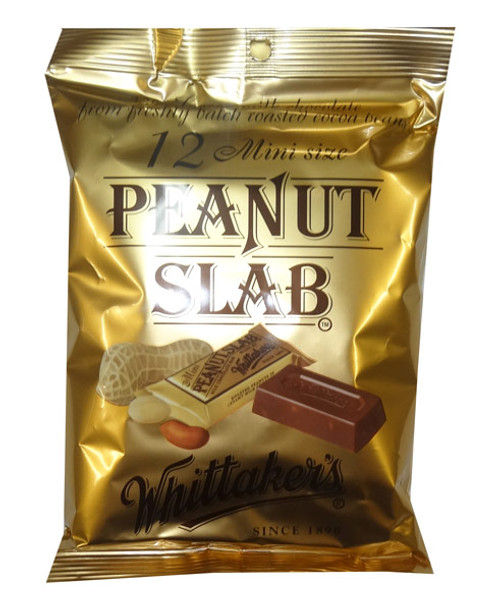 Whittakers Mini Peanut Slabs, by Whittakers,  and more Confectionery at The Professors Online Lolly Shop. (Image Number :8583)