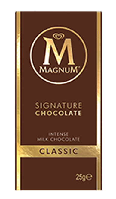 Magnum Mini Blocks - Milk Chocolate, by Magnum,  and more Confectionery at The Professors Online Lolly Shop. (Image Number :8554)