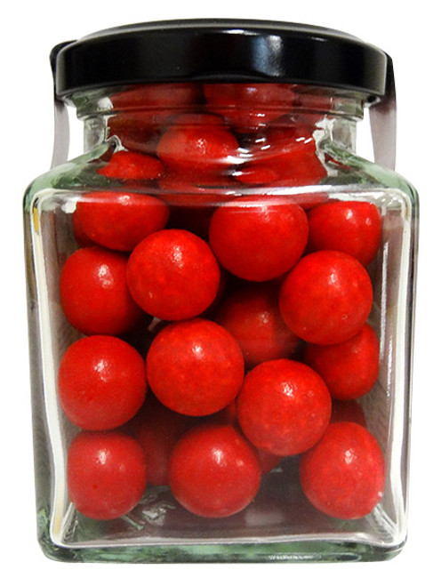 Aniseed Balls - Red, by The Australian Sweet Company,  and more Confectionery at The Professors Online Lolly Shop. (Image Number :12737)