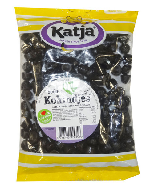 Katja Dutch Licorice - Kokindjes, by Katja Fassin,  and more Confectionery at The Professors Online Lolly Shop. (Image Number :8755)