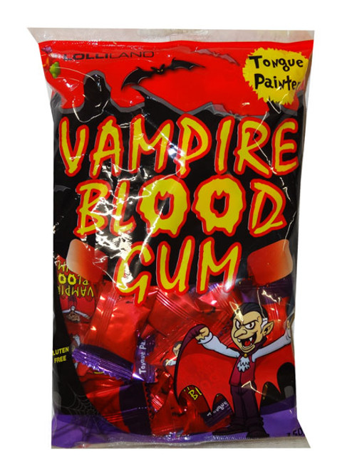 Vampire Blood Gum - Tongue Painter, by Lolliland,  and more Confectionery at The Professors Online Lolly Shop. (Image Number :9380)