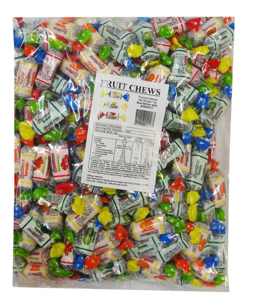 Sweet Treats Fruit Chews - Printed Wrapper, by Brisbane Bulk Supplies,  and more Confectionery at The Professors Online Lolly Shop. (Image Number :8857)