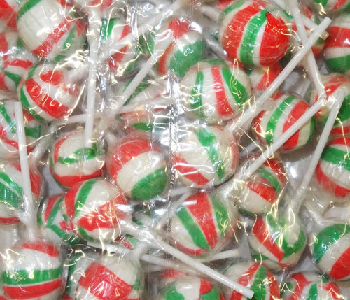 Sweet Treats Ball Pops -  Xmas Mix, by Brisbane Bulk Supplies,  and more Confectionery at The Professors Online Lolly Shop. (Image Number :9423)