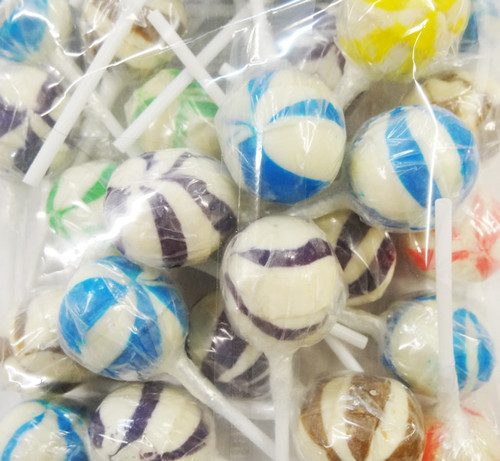 Ball Pops - Assorted Colours, by Brisbane Bulk Supplies,  and more Confectionery at The Professors Online Lolly Shop. (Image Number :8841)