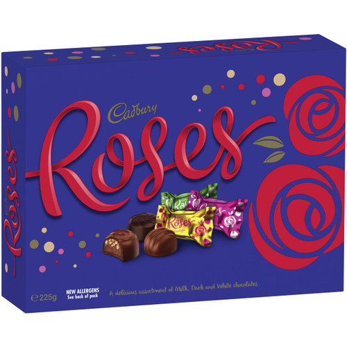Cadbury Roses Chocolate - Bulk Boxes, by Cadbury,  and more Confectionery at The Professors Online Lolly Shop. (Image Number :15749)