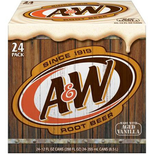 A & W Root Beer, by Dr Pepper,  and more Beverages at The Professors Online Lolly Shop. (Image Number :8957)