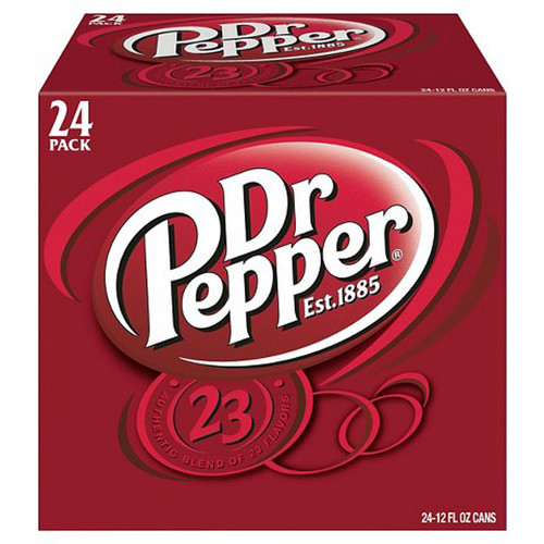 Dr. Pepper, by Dr Pepper,  and more Beverages at The Professors Online Lolly Shop. (Image Number :8955)