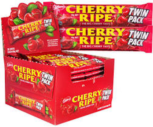 Cadbury Cherry Ripe King Size, by Cadbury,  and more Confectionery at The Professors Online Lolly Shop. (Image Number :15026)