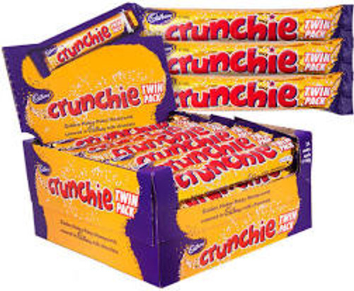 Cadbury Crunchie King Size, by Cadbury,  and more Confectionery at The Professors Online Lolly Shop. (Image Number :14524)