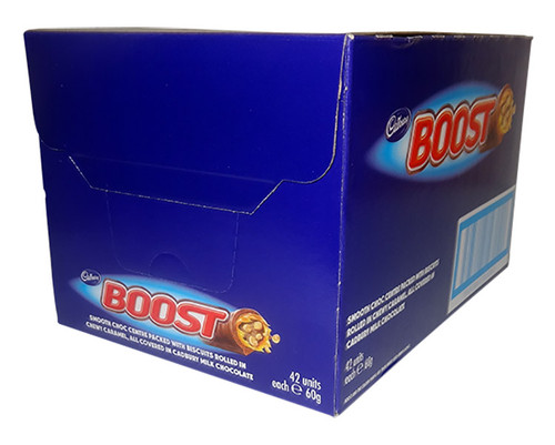 Cadbury Boost, by Cadbury,  and more Confectionery at The Professors Online Lolly Shop. (Image Number :9755)