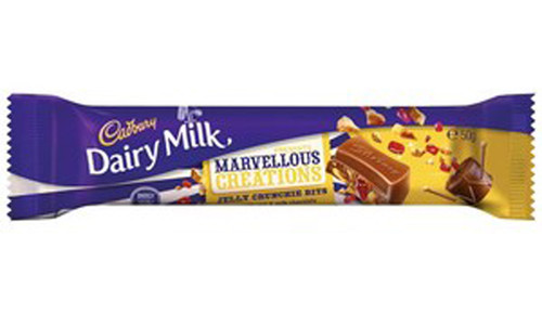 Cadbury Dairy Milk Marvellous Creations - Jelly Crunchie, by Cadbury,  and more Confectionery at The Professors Online Lolly Shop. (Image Number :9255)