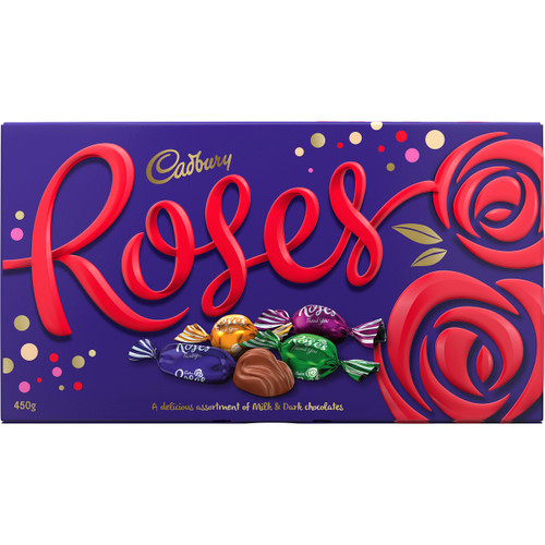 Cadbury Roses Chocolate - Bulk Boxes, by Cadbury,  and more Confectionery at The Professors Online Lolly Shop. (Image Number :12061)