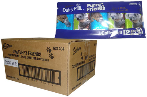 Cadbury Furry Friends - 5 pack, by Cadbury,  and more Confectionery at The Professors Online Lolly Shop. (Image Number :9827)