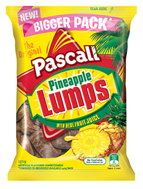 Pascall Pineapple Lumps, by Pascall,  and more Confectionery at The Professors Online Lolly Shop. (Image Number :9297)