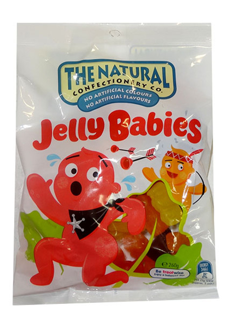 The Natural Confectionery Co. - Jelly Babies, by The Natural Confectionery Co.,  and more Confectionery at The Professors Online Lolly Shop. (Image Number :9695)