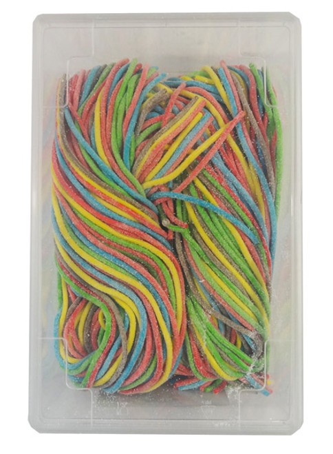 TNT Sour Strings Multicolour, by TNT,  and more Confectionery at The Professors Online Lolly Shop. (Image Number :9182)