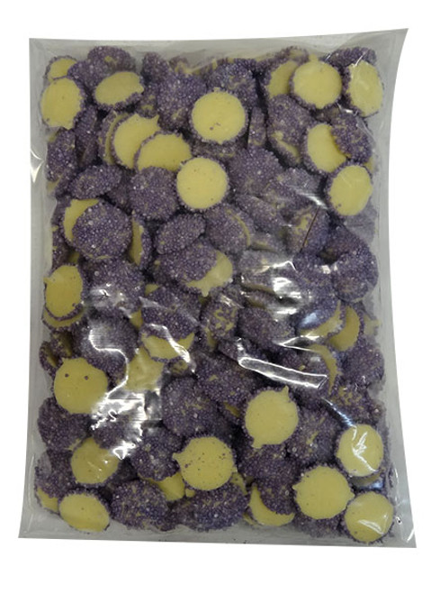 Custom Choc - White Choc Jewels with Purple Speckles, by Custom Choc,  and more Confectionery at The Professors Online Lolly Shop. (Image Number :9665)