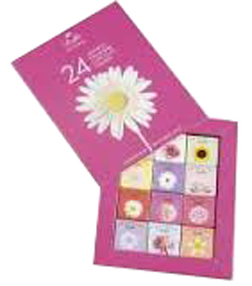 Dolfin Flower Gift Squares - Assorted, by Dolfin,  and more Confectionery at The Professors Online Lolly Shop. (Image Number :9225)