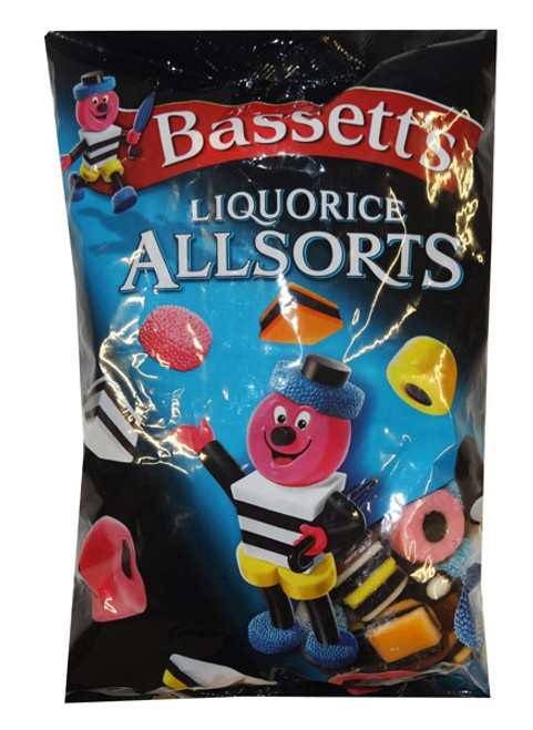 Bassetts Licorice Allsorts, by Bassett,  and more Confectionery at The Professors Online Lolly Shop. (Image Number :9639)