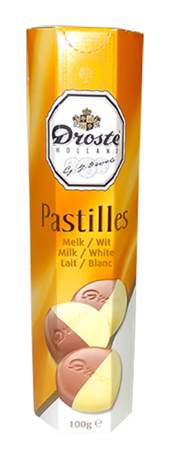 Droste Rolls White / Milk Chocolate and more Confectionery at The Professors Online Lolly Shop. (Image Number :9762)