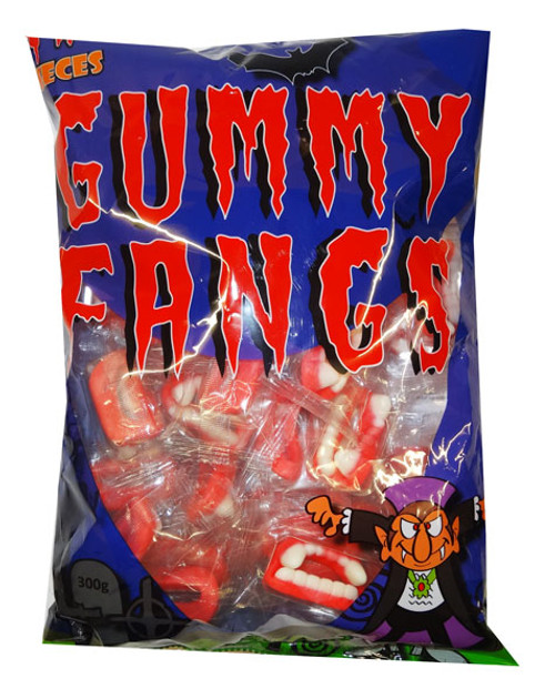 Gummy Fangs, by Lolliland,  and more Confectionery at The Professors Online Lolly Shop. (Image Number :9379)