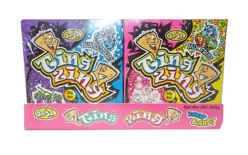 Jojo Ting Zing Tangy Candy, by JoJo,  and more Confectionery at The Professors Online Lolly Shop. (Image Number :9547)