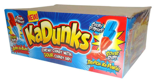 KaDunks Sour Candy Dip and more Confectionery at The Professors Online Lolly Shop. (Image Number :9773)