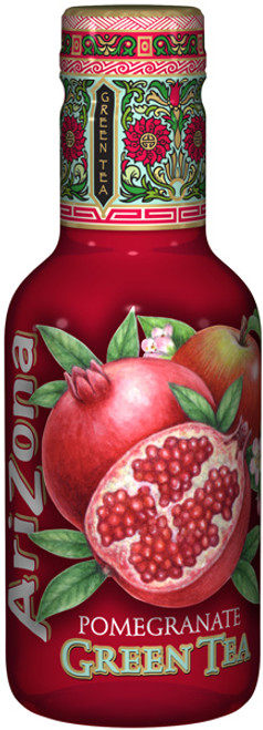 Arizona Ice Tea - Pomegranate Green Tea, by Arizona,  and more Beverages at The Professors Online Lolly Shop. (Image Number :9354)