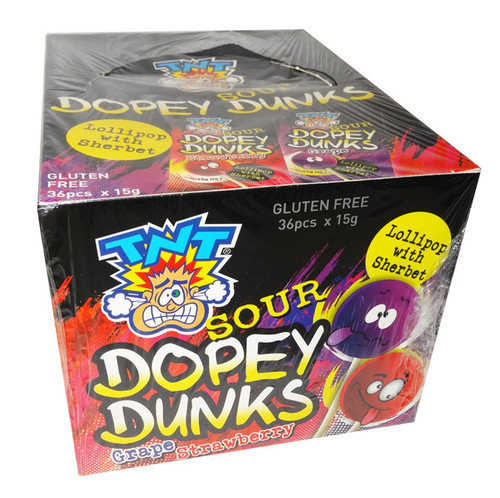 TNT Sour Dopey Dunks, by TNT,  and more Confectionery at The Professors Online Lolly Shop. (Image Number :9504)