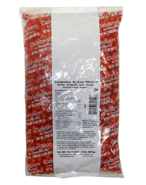Sixlets - Red, by Sixlets,  and more Confectionery at The Professors Online Lolly Shop. (Image Number :9506)