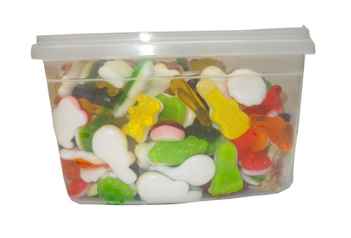 Trolli Groovy Mix Tub, by Trolli,  and more Confectionery at The Professors Online Lolly Shop. (Image Number :9502)