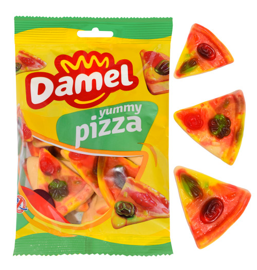 Damel Gummy Pizzas, by Damel,  and more Confectionery at The Professors Online Lolly Shop. (Image Number :15457)