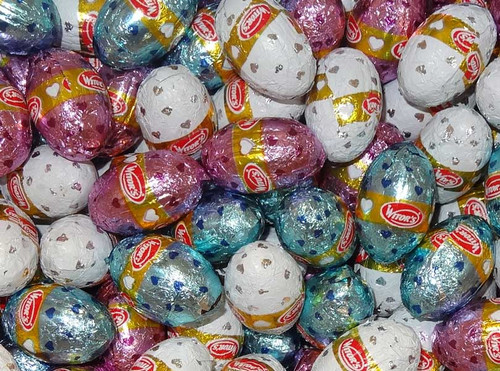 Witors Mini Milk Chocolate Easter Eggs - Pastel Mix - Bulk and more Confectionery at The Professors Online Lolly Shop. (Image Number :9613)