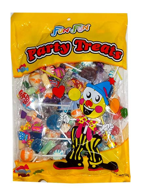 Fun-Fun Party Mix, by Brisbane Bulk Supplies,  and more Confectionery at The Professors Online Lolly Shop. (Image Number :9939)