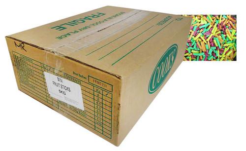 Premium Mini Fruit Sticks Bulk - Assorted (5kg box)