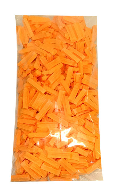 Premium Mini Fruit Sticks - Orange with an Orange Flavour, by Cooks Confectionery,  and more Confectionery at The Professors Online Lolly Shop. (Image Number :10002)