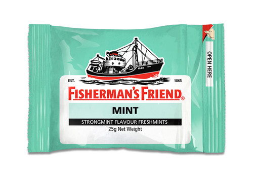 Fishermans Friend - Mint - Strongmint, by Lofthouse,  and more Confectionery at The Professors Online Lolly Shop. (Image Number :9874)