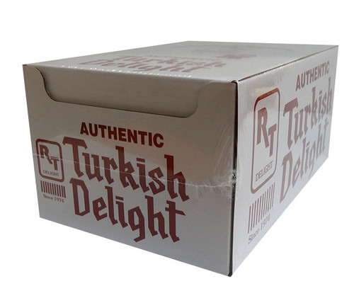 Turkish Delight - Twin Pack - Rose Flavour, by Real Turkish Delight Co,  and more Confectionery at The Professors Online Lolly Shop. (Image Number :10016)