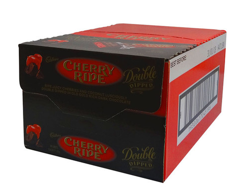 Cherry Ripe Double Dipped, by Cadbury,  and more Confectionery at The Professors Online Lolly Shop. (Image Number :10304)