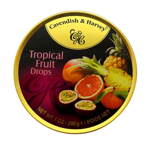 Cavendish & Harvey - Tropical Fruit Drops and more Confectionery at The Professors Online Lolly Shop. (Image Number :10542)