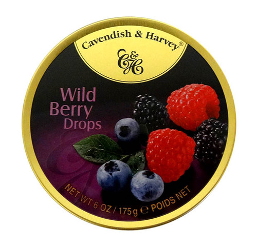 Cavendish & Harvey - Wild Berry Drops and more Confectionery at The Professors Online Lolly Shop. (Image Number :10544)