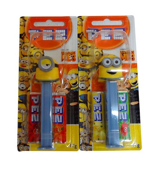 Pez Candy Dispensers - Despicable Me / Minions, by Pez,  and more Confectionery at The Professors Online Lolly Shop. (Image Number :10330)