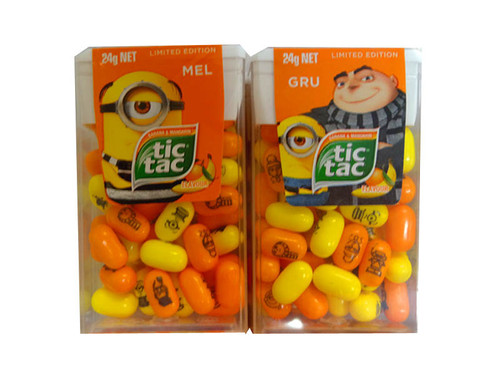 Tic Tac - Despicable Me, by Ferrero,  and more Confectionery at The Professors Online Lolly Shop. (Image Number :10327)