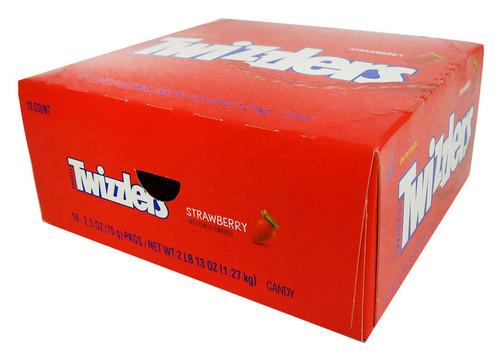 Twizzlers Twists - Strawberry (18 x 70g packs)
