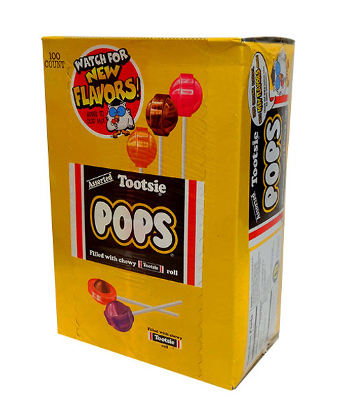 Tootsie Pops Assorted, by Tootsie Roll Industries,  and more Confectionery at The Professors Online Lolly Shop. (Image Number :10677)