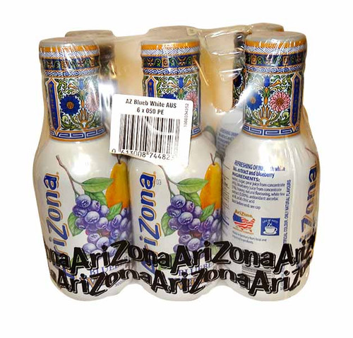 Arizona Ice Tea -  Blueberry White, by Arizona,  and more Beverages at The Professors Online Lolly Shop. (Image Number :10613)