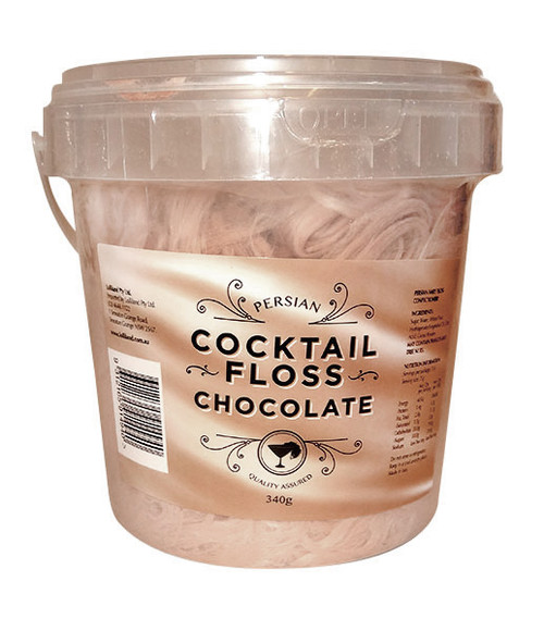 Persian Cocktail Brown Fairy Floss - Chocolate and more Confectionery at The Professors Online Lolly Shop. (Image Number :10612)