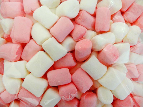 Sweet Treats Mini Marshmallow - Pink and White, by Brisbane Bulk Supplies,  and more Confectionery at The Professors Online Lolly Shop. (Image Number :10735)