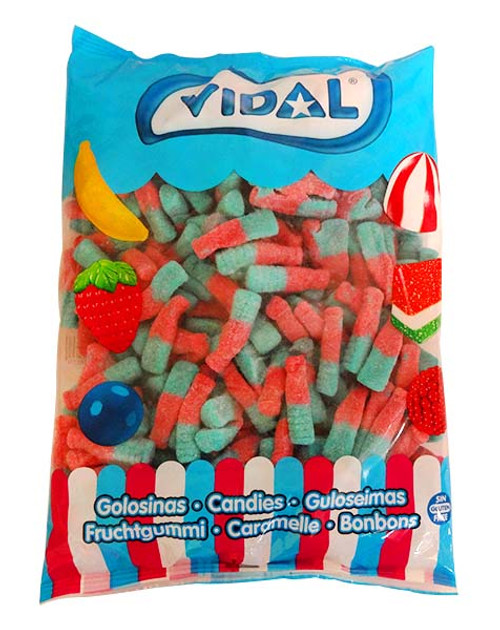 Vidal Tutti Frutti Bottles, by vidal,  and more Confectionery at The Professors Online Lolly Shop. (Image Number :10821)